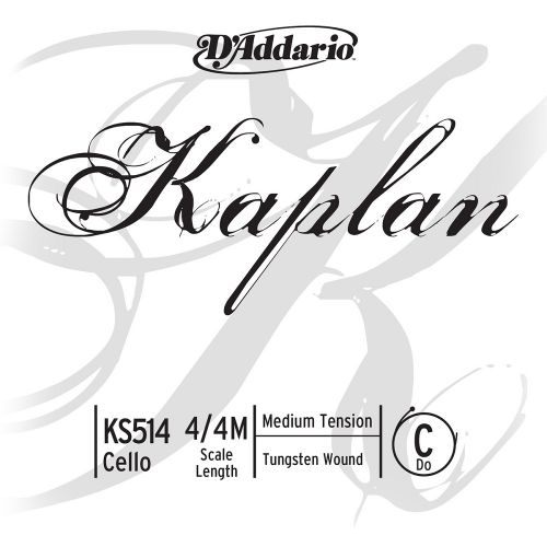 D'ADDARIO AND CO 4/4 KAPLAN CELLO SINGLE C STRING SCALE MEDIUM TENSION