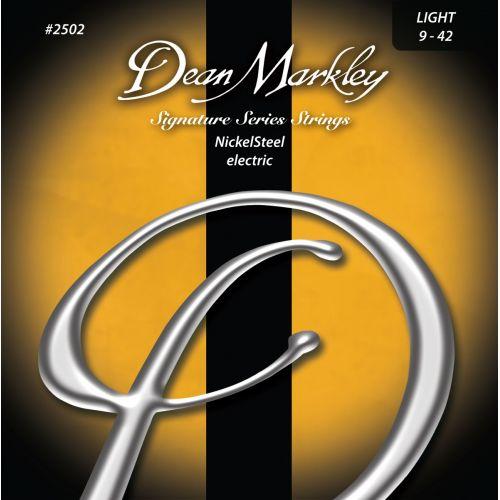DEAN MARKLEY 2502 SIGNATURE NICKEL STEEL LIGHT 09-42