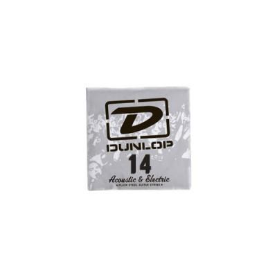 DUNLOP CORDES ELECTRIQUES NICKEL PLATED STEEL REASSORT ACIER PLEIN 014