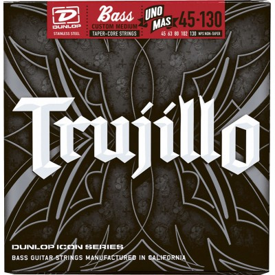 DUNLOP TRUJILLO SIGNATURE 5-STRING 45-63-80-102-130