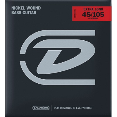 DUNLOP NICKEL 45-105 EXTRA LONG SCALE
