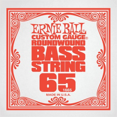 ERNIE BALL .065 NICKEL WOUND ELECTRIC BASS STRING SINGLE