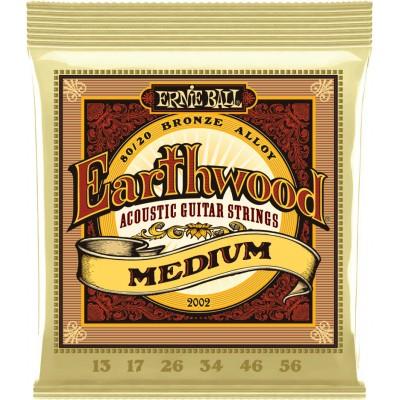 ERNIE BALL 2002 EARTHWOOD MEDIUM 13-56