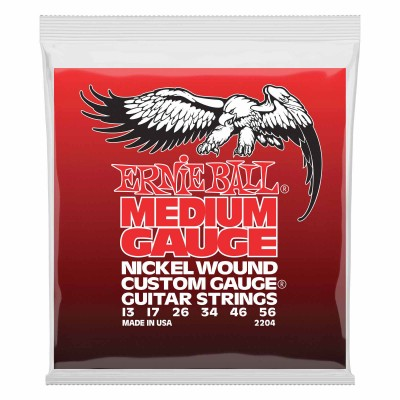 ERNIE BALL MEDIUM GAUGE 13-56 2204