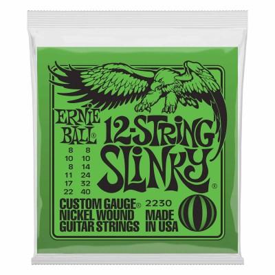 ERNIE BALL SLINKY 12 STRINGS 8-8 / 22-40 2230
