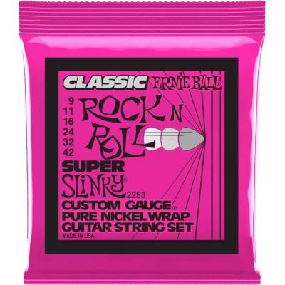 ERNIE BALL SUPER SLINKY CLASSIC ROCK N ROLL 9-42 2253