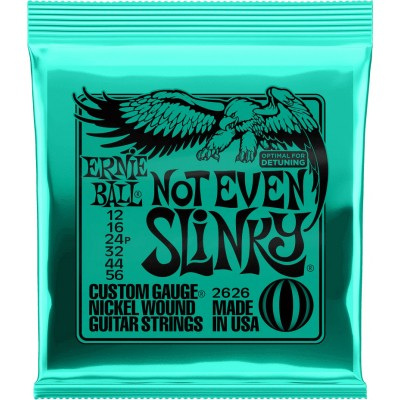 ERNIE BALL ELECTRIQUE 2626 NOT EVEN SLINKY 12 56