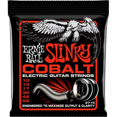 ERNIE BALL COBALT SLINKY 10-52 SKINNY TOP HEAVY BOTTOM