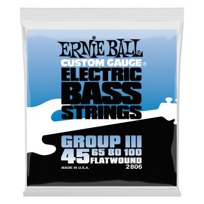 ERNIE BALL ELECTRIC BASS STRINGS 45-100 2806
