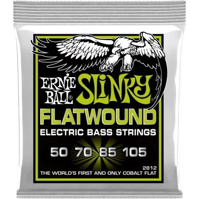 ERNIE BALL REGULAR SLINKY FLATWOUND ELECTRIC BASS STRINGS 50-105