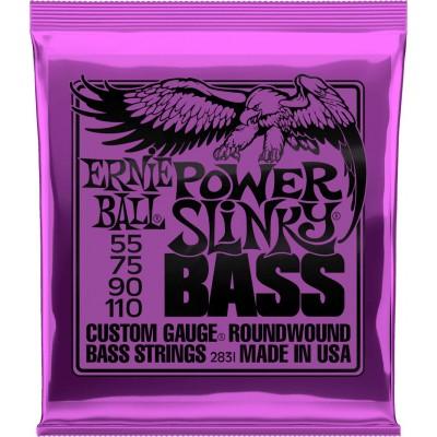ERNIE BALL 2831 POWER SLINKY 55 75 90 110 (4 STRING)