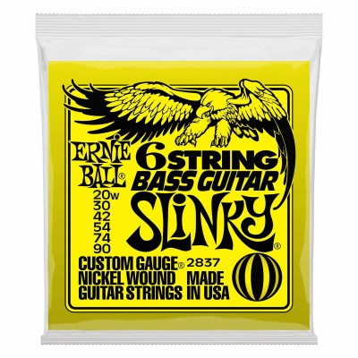 Bass guitar strings 6 and more