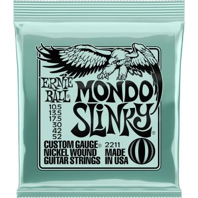 ERNIE BALL SLINKY NICKEL WOUND SET MONDO SLINKY !10,5-13,5-17,5-30-42-52