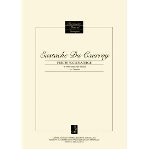 CMBV DU CAURROY E. - PIECES ECCLESIASTICAE