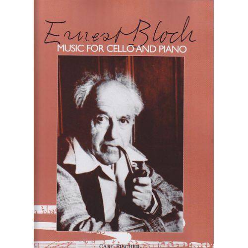CARL FISCHER BLOCH ERNST - MUSIC FOR CELLO