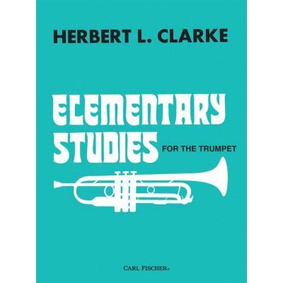 CARL FISCHER CLARKE HERBERT L. - ELEMENTARY STUDIES