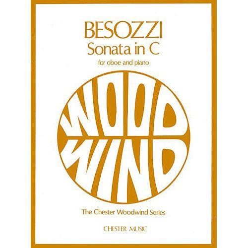 CHESTER PERCUSSION BESOZZI A. - SONATA IN C - HAUTBOIS ET PIANO