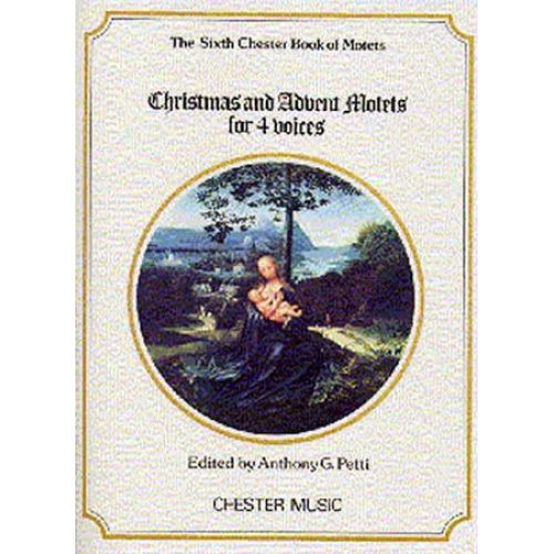 CHESTER MUSIC CHRISTMAS AND ADVENT MOTETS FOR 4 VOICES