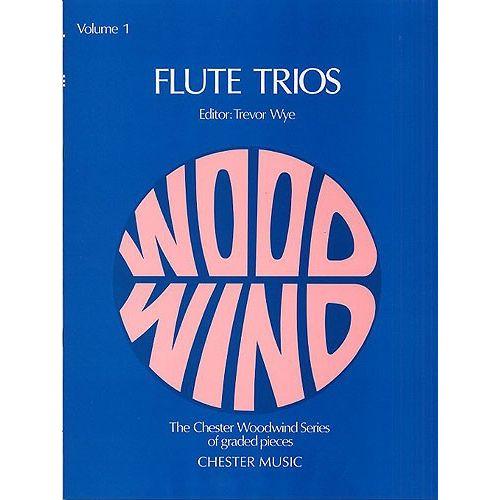 CHESTER MUSIC WYE TREVOR - FLUTE TRIOS - VOLUME 1 - FLUTE