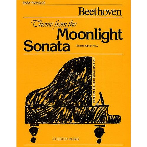 CHESTER MUSIC THEME FROM THE MOONLIGHT SONATA - PIANO SOLO