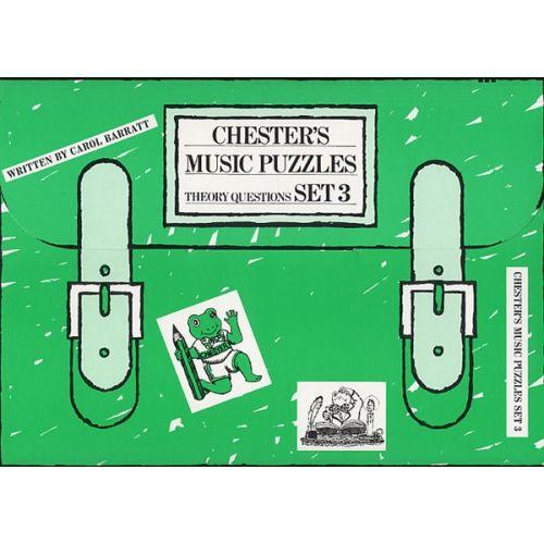 CHESTER MUSIC CHESTER S MUSIC PUZZLES SET 3 - VOL 3 - CHILDREN