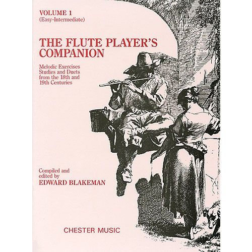 CHESTER MUSIC THE FLUTE PLAYER'S COMPANION - VOLUME 1 EASY-INTERMEDIATE - FLUTE