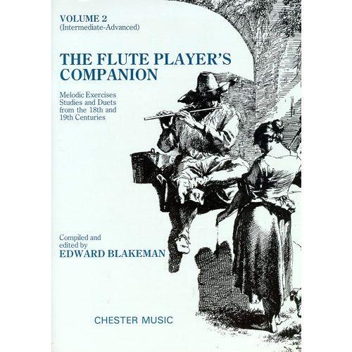 CHESTER MUSIC BLAKEMAN EDWARD - THE FLUTE PLAYER'S COMPANION - INTERMEDIATE-ADVANCED - 2 - FLUTE