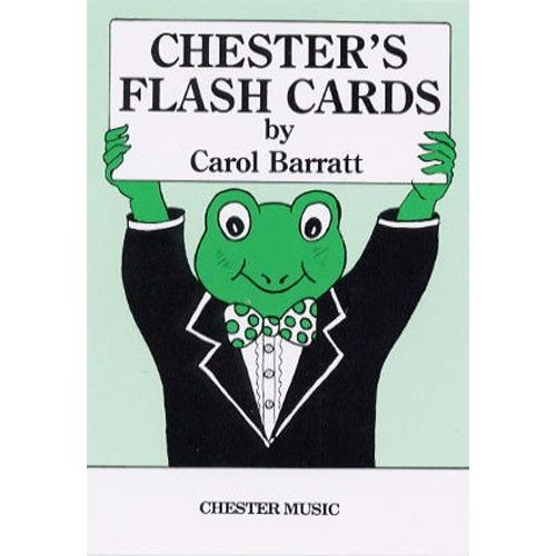 CHESTER MUSIC BARRATT CAROL - CHESTER'S FLASHCARDS - THEORY