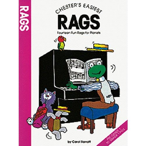 CHESTER MUSIC CHESTER'S EASIEST RAGS - FOURTEEN FUN RAGS FOR PIANISTS - PIANO SOLO
