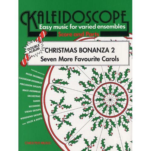CHESTER MUSIC NICHOLAS HARE - CHRISTMAS BONANZA 2 - SEVEN MORE FAVOURITE CAROLS - ENSEMBLE