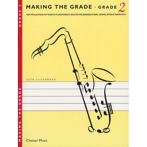 CHESTER MUSIC JERRY LANNING - MAKING THE GRADE - SAXOPHONE - 2