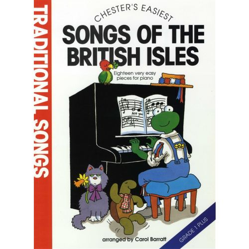 CHESTER MUSIC CHESTER'S EASIEST TRADITIONAL SONGS OF THE BRITISH ISLES - PIANO SOLO