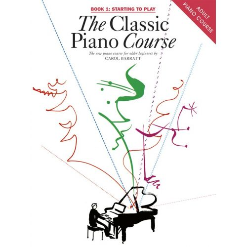CHESTER MUSIC THE CLASSIC PIANO COURSE BOOK 1 STARTING TO PLAY - V. 1 - PIANO SOLO