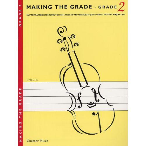 CHESTER MUSIC MAKING THE GRADE GRADE TWO - VIOLIN