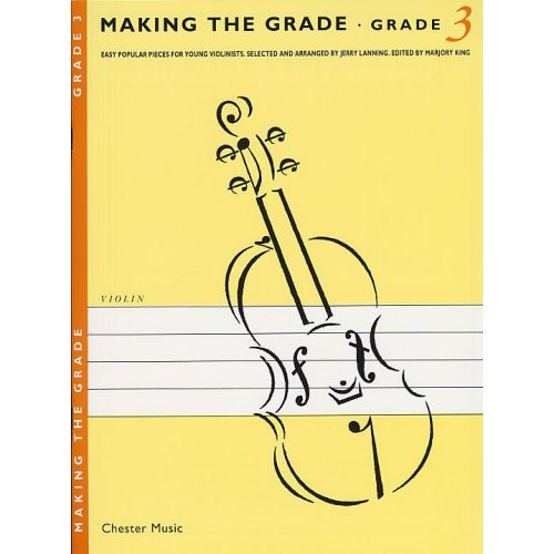 CHESTER MUSIC FRITH MARTIN - MAKING THE GRADE - VIOLIN - 3