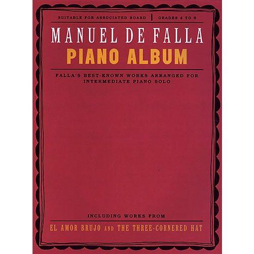 CHESTER MUSIC DE FALLA MANUEL - PIANO ALBUM - PIANO SOLO