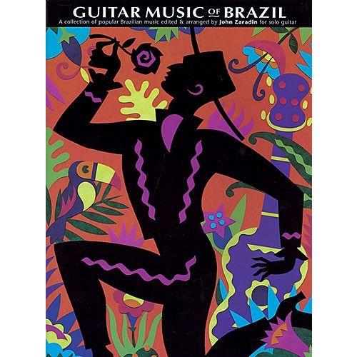 CHESTER MUSIC ZARADIN JOHN - THE GUITAR MUSIC OF BRAZIL - GUITAR TAB