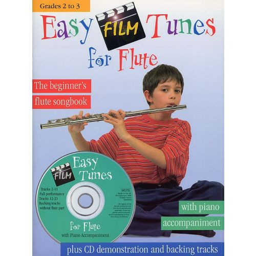 CHESTER MUSIC EASY FILM TUNES FOR FLUTE - FLUTE