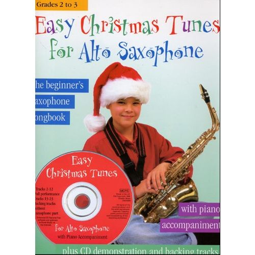 CHESTER MUSIC EASY CHRISTMAS TUNES FOR + CD - ALTO SAXOPHONE