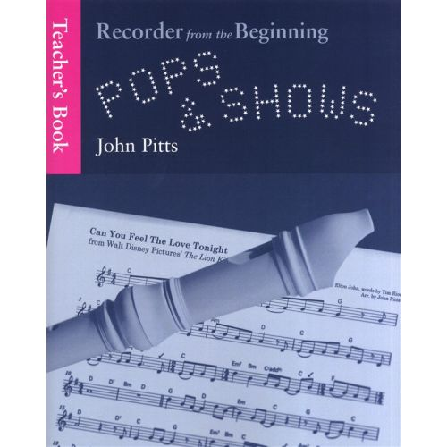 CHESTER MUSIC PITT JANE - RECORDER FROM THE BEGINNING - DESCANT RECORDER