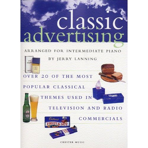 CHESTER MUSIC CLASSIC ADVERTISING - PIANO SOLO