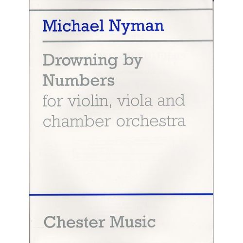 CHESTER MUSIC MICHAEL NYMAN - DROWNING BY NUMBERS MUSIC SCORE TO FILM - VIOLIN