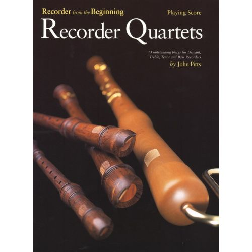 CHESTER MUSIC PITTS JOHN - RECORDER QUARTETS - PLAYING SCORE - WIND ENSEMBLE