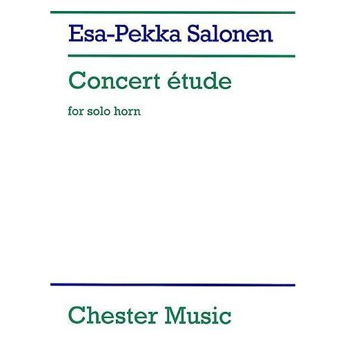 CHESTER MUSIC SALONEN E.-P. - CONCERT ETUDE FOR SOLO HORN IN F