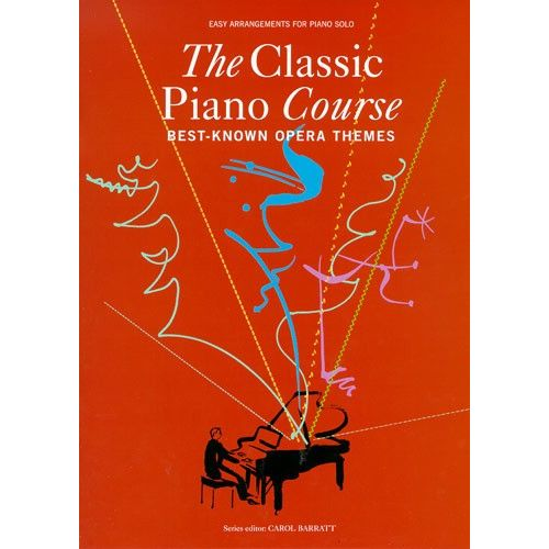 CHESTER MUSIC THE CLASSIC PIANO COURSE BEST-KNOWN OPERA THEMES - PIANO SOLO