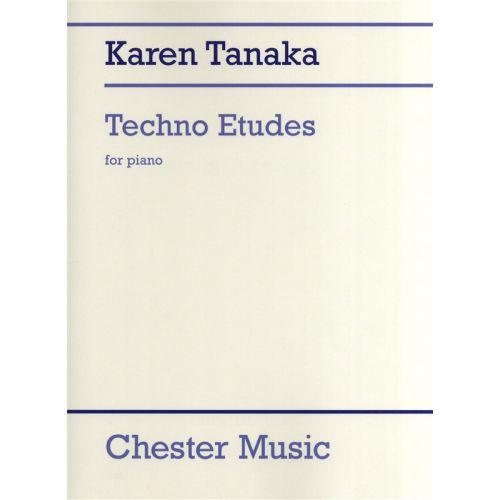 CHESTER MUSIC KARN TANAKA TECHNO ETUDES - PIANO SOLO