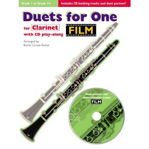 CHESTER MUSIC FILM DUETS FOR ONE + CD - CLARINET