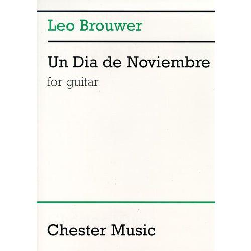 CHESTER MUSIC UN DIA DE NOVIEMBRE - GUITAR