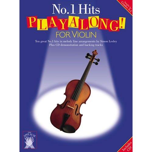 CHESTER MUSIC APPLAUSE NO.1 HITS PLAYALONG FOR VIOLIN + CD - VIOLIN