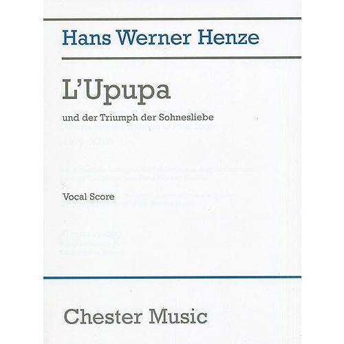 CHESTER MUSIC L'UPUPA UND DER TRIUMPH DER SOHNESLIEBE - OPERA